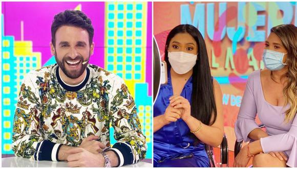 Rodrigo González se burla de la nueva temporada del programa 'Mujeres al mando'. (Fotos: Instagram)
