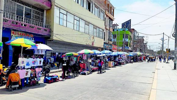 MPT propicia el comercio informal