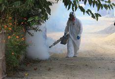 Desinfectan calles cercanos a vivienda del primer infectado con coronavirus en Áncash (FOTOS)