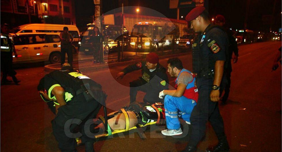 Dos mujeres policías resultaron heridas tras accidente en Carretera Central