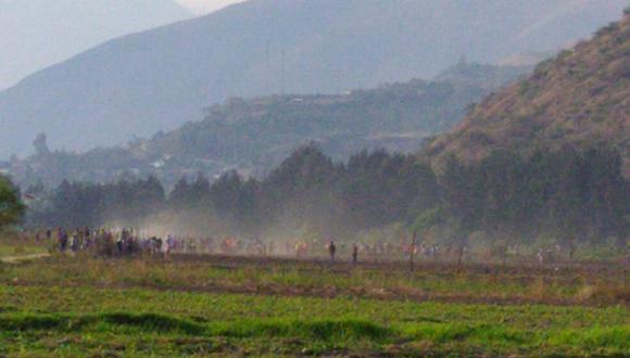 Enfrentamiento entre pobladores y la Policía deja un muerto y varios heridos en Quicacán
