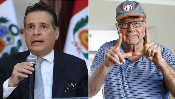 Omar Chehade comentó sobre su suegro, Alfredo González.   Foto: Composición.