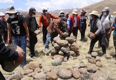Cabanillas: Realizan demarcación de terrenos para planta de tratamiento de agua potable