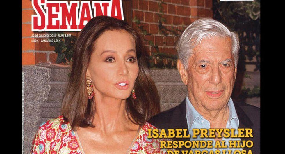 Isabel Preysler responde a hijo de Mario Vargas Llosa