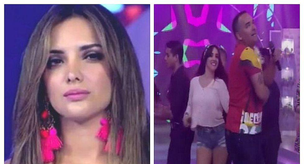 "Rosángela Espinoza sobre Terkes: ""Está celosita porque quería bailar con Roberto Martínez"" (VIDEO)"