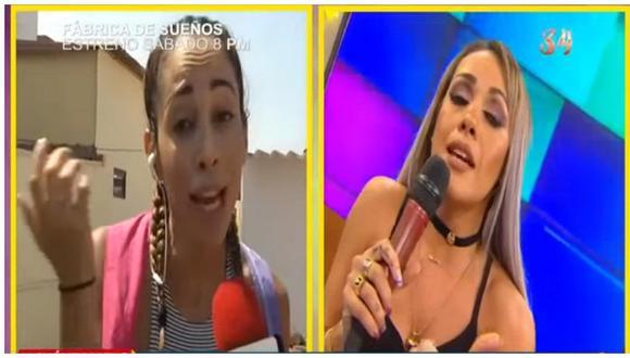 Dorita Orbegoso: Olinda Castañeda la retó a cantar en medio de acalorada discusión y luego vino lo peor (VIDEO)