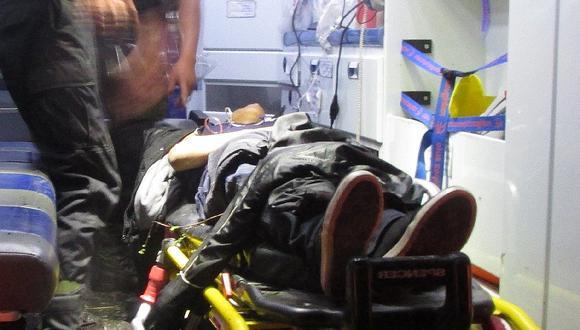 Familia sufre accidente de tránsito en paraje que pertenece a Tayacaja