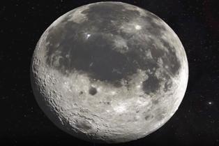 La Luna presenta radiación 200 veces más que la de la Tierra