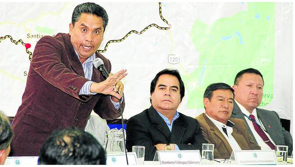 Carretera Central todavía espera ser declarada en emergencia por gobierno