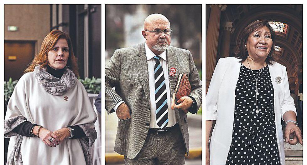 Mercedes Aráoz, Carlos Bruce y Ana María Choquehuanca renuncian a la bancada oficialista