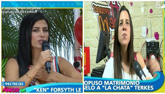 Claudia Ramírez revela mensajes que le envió George Forsyth por WhatsApp (VIDEO)