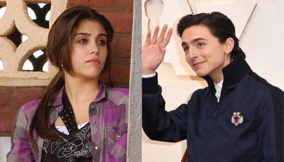 Lourdes Leon, hija de Madonna, recordó su relación con el actor Timothée Chalamet. (Foto: AFP)