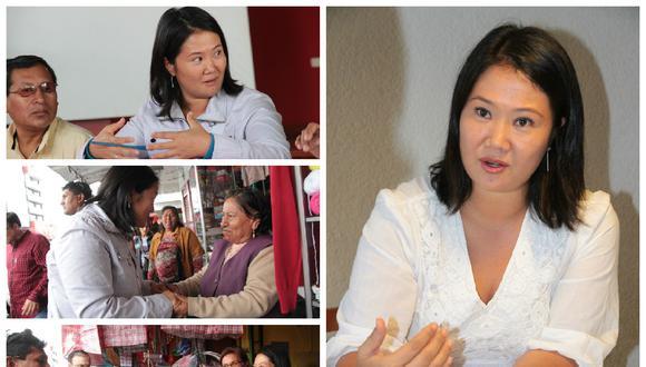 """Keiko Fujimori fue clara: """"Yo no indultaré a mi padre"""""""""""