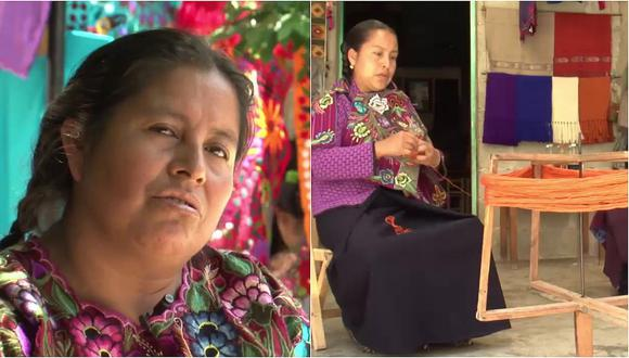 Su esposo la golpeaba y ella decidió marcharse para empezar este proyecto (VIDEO)