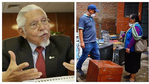 Ministro Javier Piqué revela que detectaron una serie de deficiencias en tuberías tras aniego en SJL