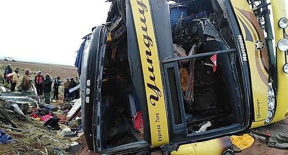 Dan a conocer lista de pasajeros que viajaban en bus accidentado