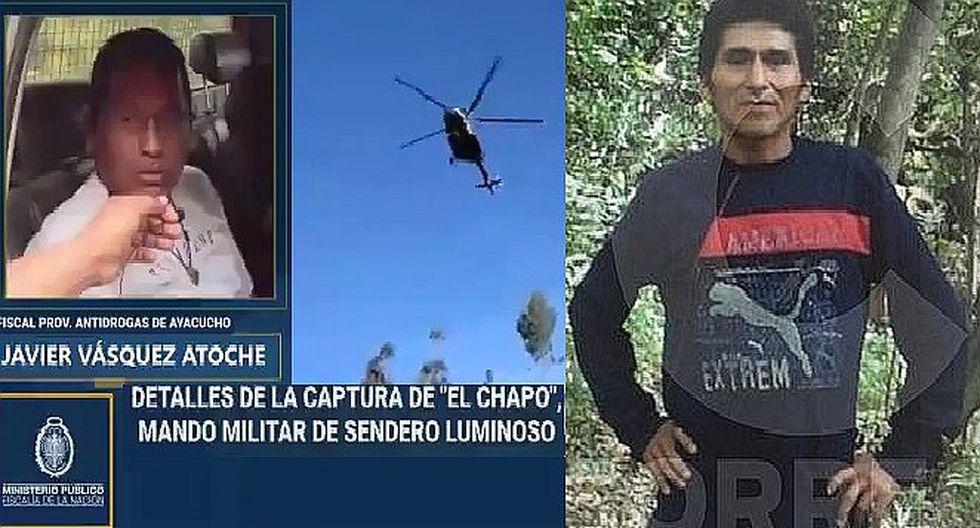 "Fiscal antidrogas tras captura de ""Julio Chapo"": ""Hoy hemos encontrado más armamento enterrado"" (VIDEO)"