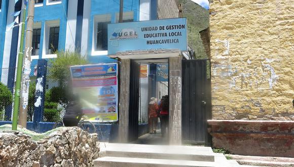 Unidad de Gestión Educativa Local de Huancavelica.