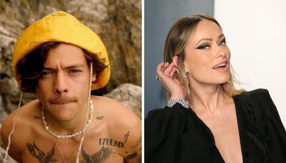 Olivia Wilde y Harry Styles sorprendieron a todos hace una semana al dar a conocer el romance que viven. (Fotos: Instagram @harrystyles Jean-Baptiste Lacroix / AFP).