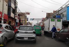 Transporte público incontrolable en la ciudad de Chincha