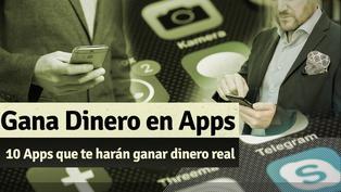 Gana dinero real con estas 10 apps