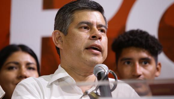 El secretario general de Fuerza Popular, Luis Galarreta, contó a Correo que el resultado de las reuniones que han sostenido es la lista que preside Maricarmen Alva (Foto: Archivo / GEC)