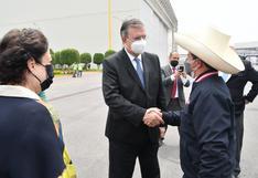 Presidente Pedro Castillo arribó a México para participar de la cumbre de la Celac