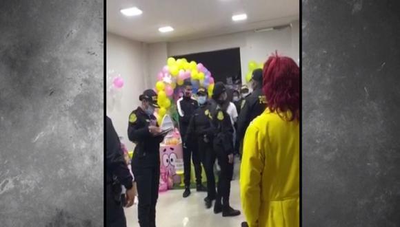 Más de 30 personas fueron intervenidas por participar de fiestas clandestinas en Callao y Lurín. (Captura: América Noticias)