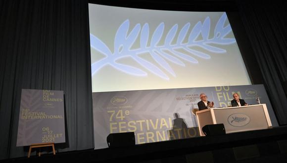 Listado de premiados en la 74 edición del Festival de Cannes. (Foto: AFP)