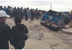 Dirigente de pescadores de Sechura muere en accidente de tránsito, en Piura