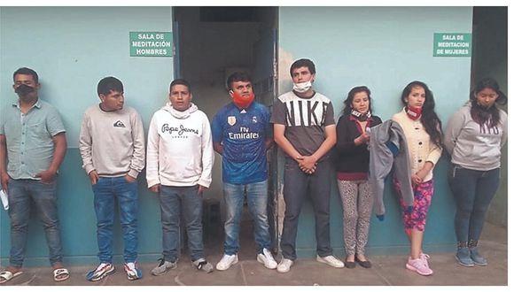 Lambayeque: Detienen a ocho que usurparon una vivienda