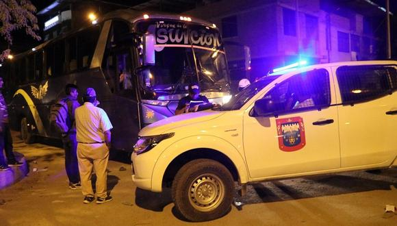 Continúan operativos contra transportistas informales