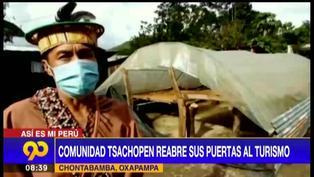 Comunidad Tsachopen en Oxapampa reabre sus puertas al turismo