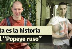 """""""Popeye ruso"""": esta es la historia del peleador de artes marciales mixtas"""