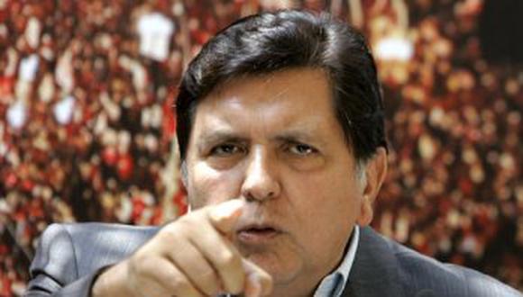 Fiscalía solicita reporte crediticio de Alan García por compra de casa