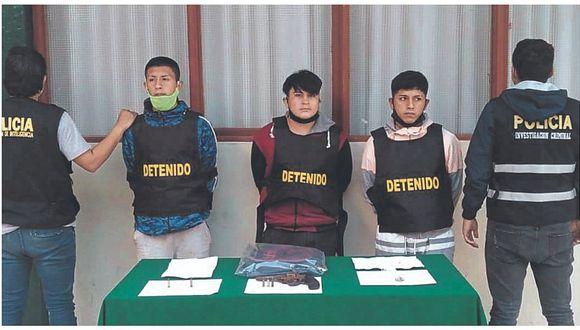 """Envían a la cárcel a """"Los Temibles"""" en Chimbote"""