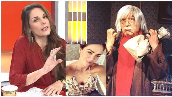 Rebeca Escribens comparó a Sheyla Rojas con el 'Dr. Chapatín' tras ver su nuevo look (VIDEO)