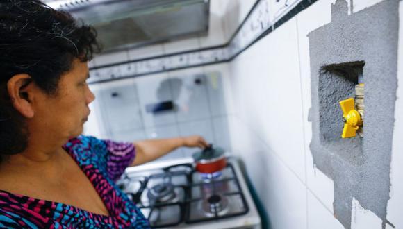 Las casas hasta con cuatro pisos podrán ser beneficiadas con el BonoGas por ser consideradas como viviendas típicas (Foto: Andina)