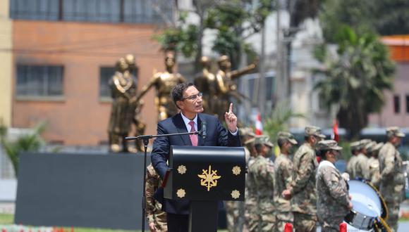 El presidente se mostró optimista frente a la pandemia del nuevo coronavirus (Presidencia)