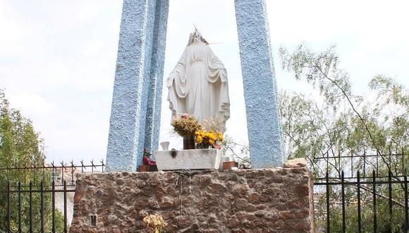 Arequipa: Vándalos decapitan estatua de la Virgen María