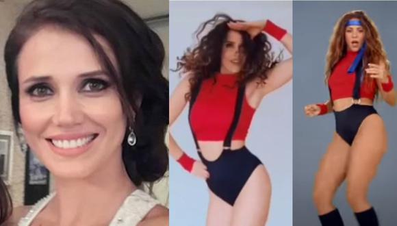 "Maju Mantilla roba suspiros al imitar a Shakira al ritmo de ""Girl like me"" (VIDEO)"