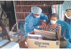 Anuncian vacunación casa por casa para mayores de 59 años en Tumbes