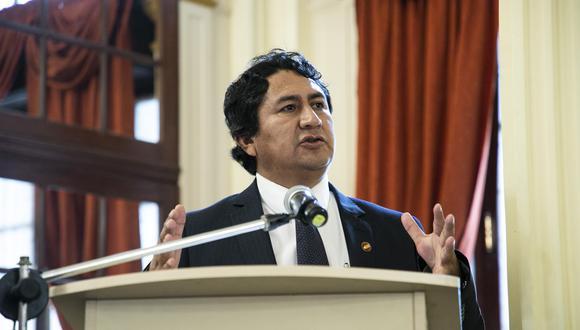 El secretario general de Perú Libre respaldó al excongresista que sería una opción de Pedro Castillo para nombrar como jefe de la PCM. (Foto: Archivo GEC)