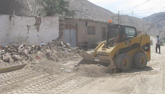 Tacna: Familias afectadas por huaico en Mirave recibirán bonos de 77 mil soles