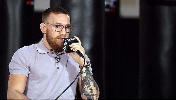 """McGregor se burla de la """"Pelea del Siglo"""" y admite que fue """"un circo"""" que lo enriqueció"""