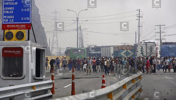 Puente Piedra: Convocan nueva protesta contra el peaje para este jueves 19