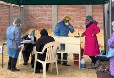 Red de Salud Chumbivilcas continuará aplicando pruebas rápidas COVID-19