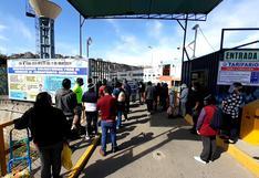Terminal Terrestre permanece cerrado, pero miniván intentan sacarle la vuelta a la norma