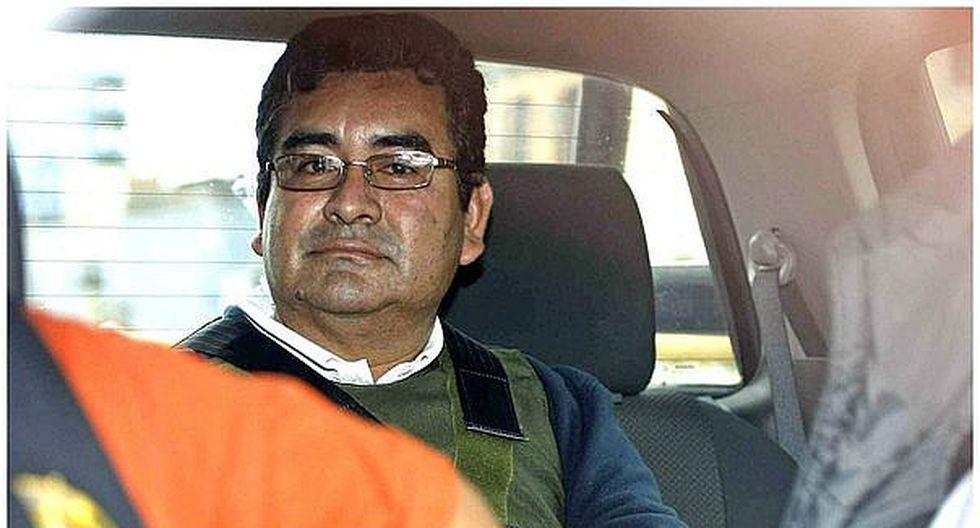 César Álvarez busca postular al Gobierno Regional de Áncash desde prisión