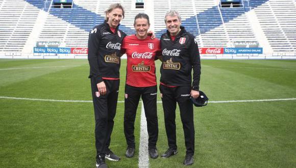 La selección peruana completó el segundo entrenamiento en Argentina. (Foto: FPF)